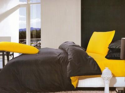 lenjerie-nuria-galben-negru-6-piese-bumbac-satinat